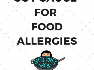 Soy Sauce for food allergies nut free wok