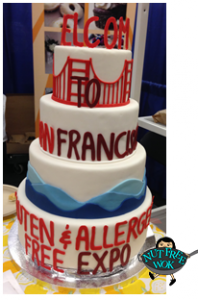 GFAF Expo SF 2014 cake by Zest Bakery