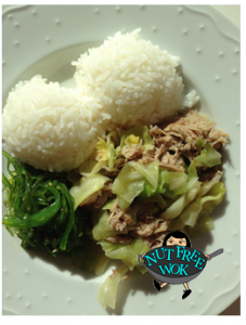 Slow Cooker Kalua Pork with Cabbage Nut Free Wok