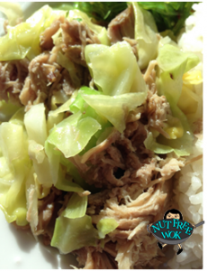 Slow Cooker Kalua Pork with Cabbage Nut Free