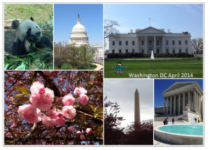 Highlights from our trip to Washington DC April 2014