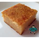 Better for you Butter Mochi, a Hawaiian dessert