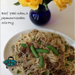 Beef Yaki Udon Recipe