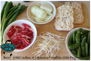 yaki udon ingredients