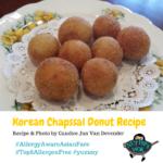 Korean Chapssal Donut Recipe