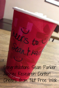 Congratulations Sean Parker Allergy