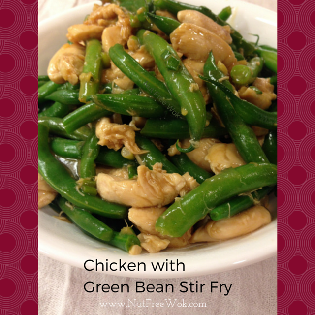 Quick easy chicken with green bean stir fry nut free wok quick easy chicken with green bean stir fry recipe forumfinder Images