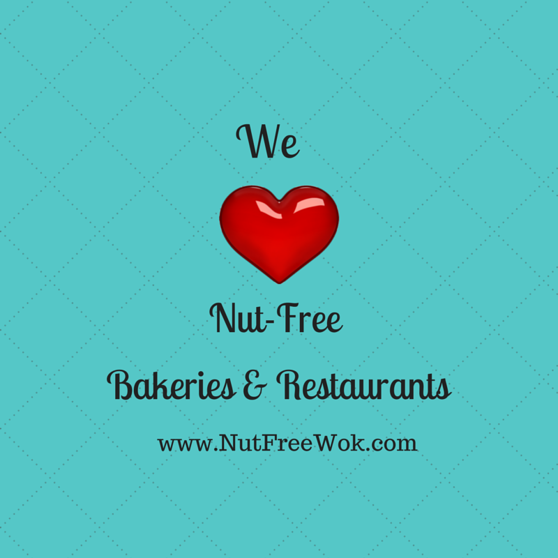 We love Nut Free Bakeries