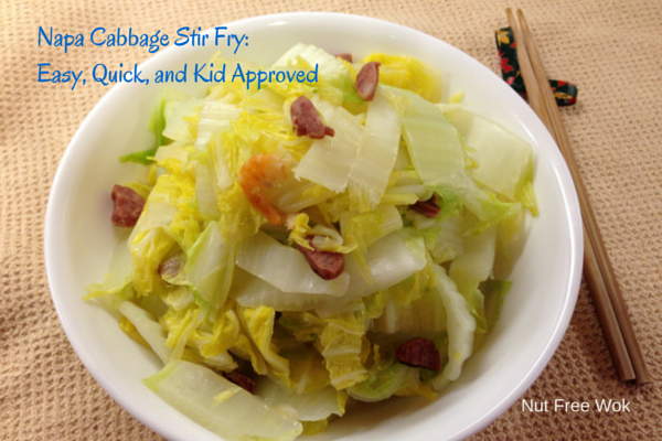 napa cabbage stir fry with title