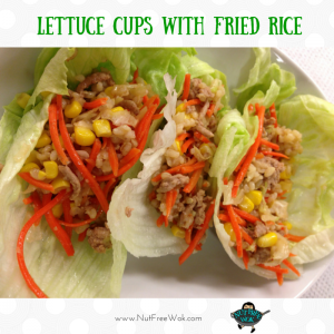 Lettuce Cups with Fried Rice