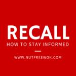 Cumin Peanut Allergy Recall