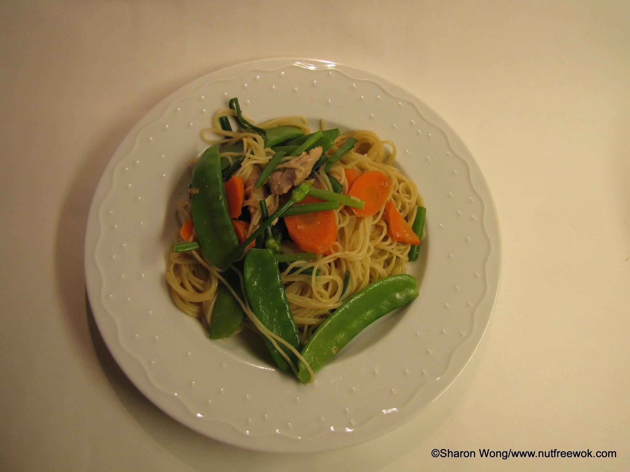 Chicken & Vegetable Lo Mein