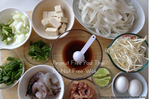 Peanut Free Pad Thai by Nut Free Wok