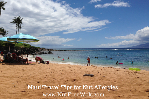 Maui Travel Tips for Nut allergies kapalua