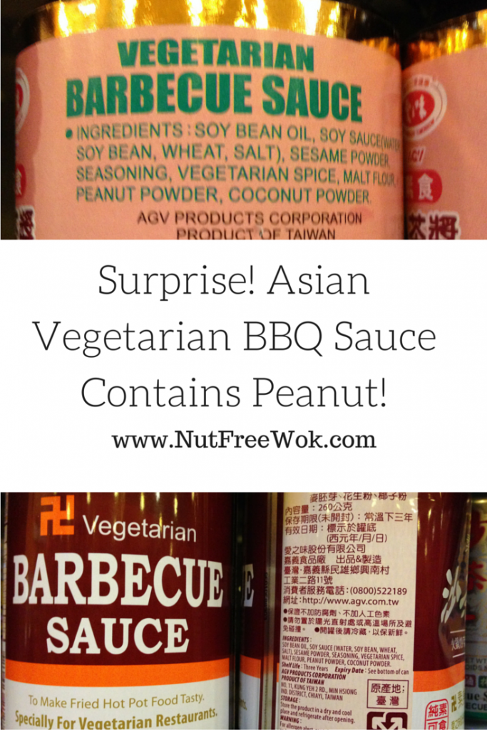 Surprise! Asian Vegetarian BBQ Sauce Contains