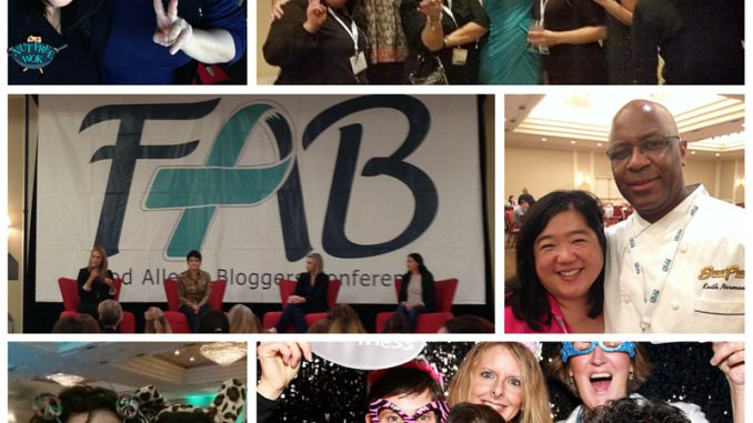 collage of photos from A Fabulous Time at #FABlogCon NutFreeWok