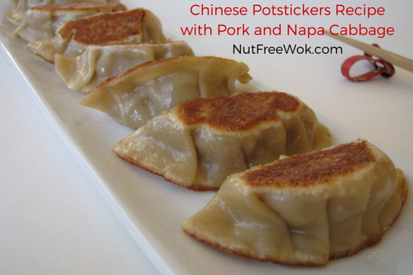 Chinese Potstickers Recipe with Pork and Napa Cabbage,