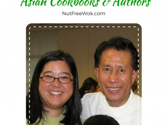 Sharon pictured with chef Martin Yan Sharon's Favorite Asian Cookbooks & Authors