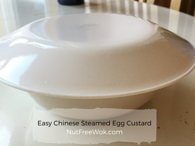 Ready to steam some Chinese Steamed Egg Custard RecipeNutFreeWok.com