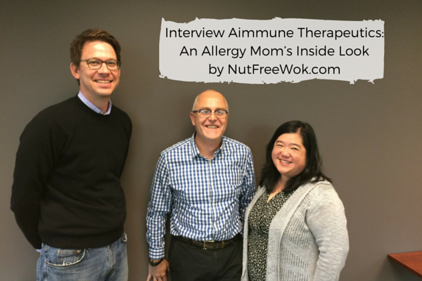 Interview Aimmune Therapeutics: An Allergy Mom's Inside Look