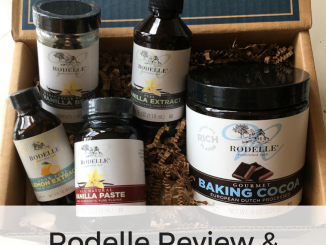 Rodelle Review & Vanilla Ice Cream in a Bag Recipe
