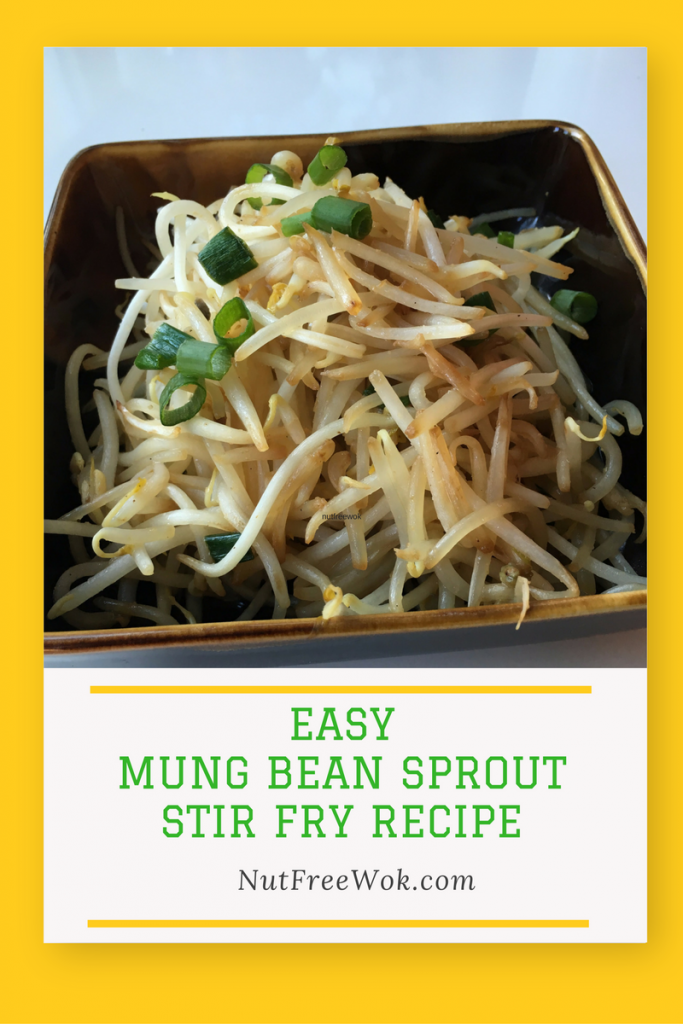 Easy Mung Bean sprout Stir Fry Recipe - Nut Free Wok