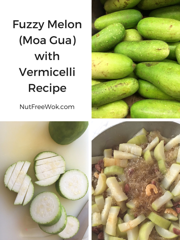 Fuzzy Melon (Moa Gua) with Vermicelli Recipe