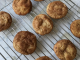 egg free, nut free snickerdoodles cool on a cooling rack