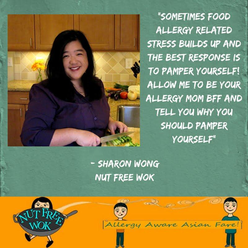 Sharon allergy tip pamper self-care
