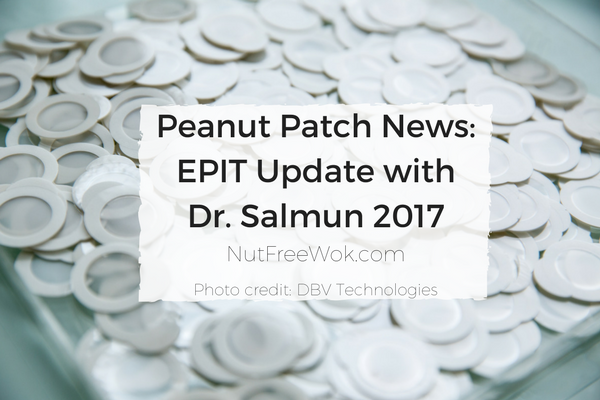 Peanut Patch News: EPIT Update with Dr. Salmun 2017