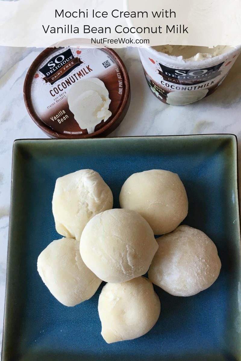 mochi ice cream dairy free frozen dessert