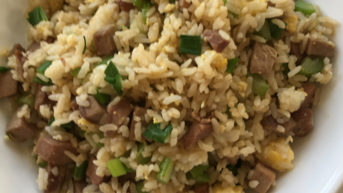 Smoked Duck Fried Rice easy versatile recipe