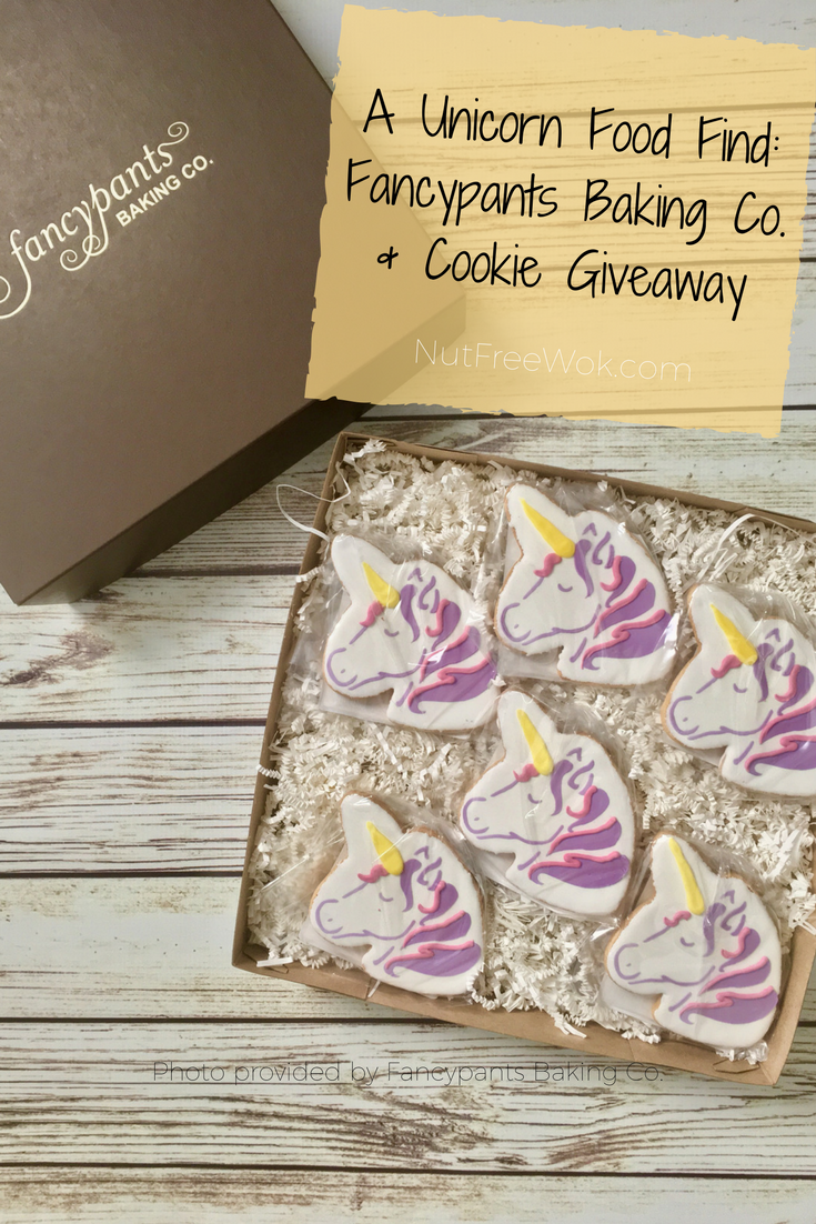 Fancypants unicorn cookie giveaway