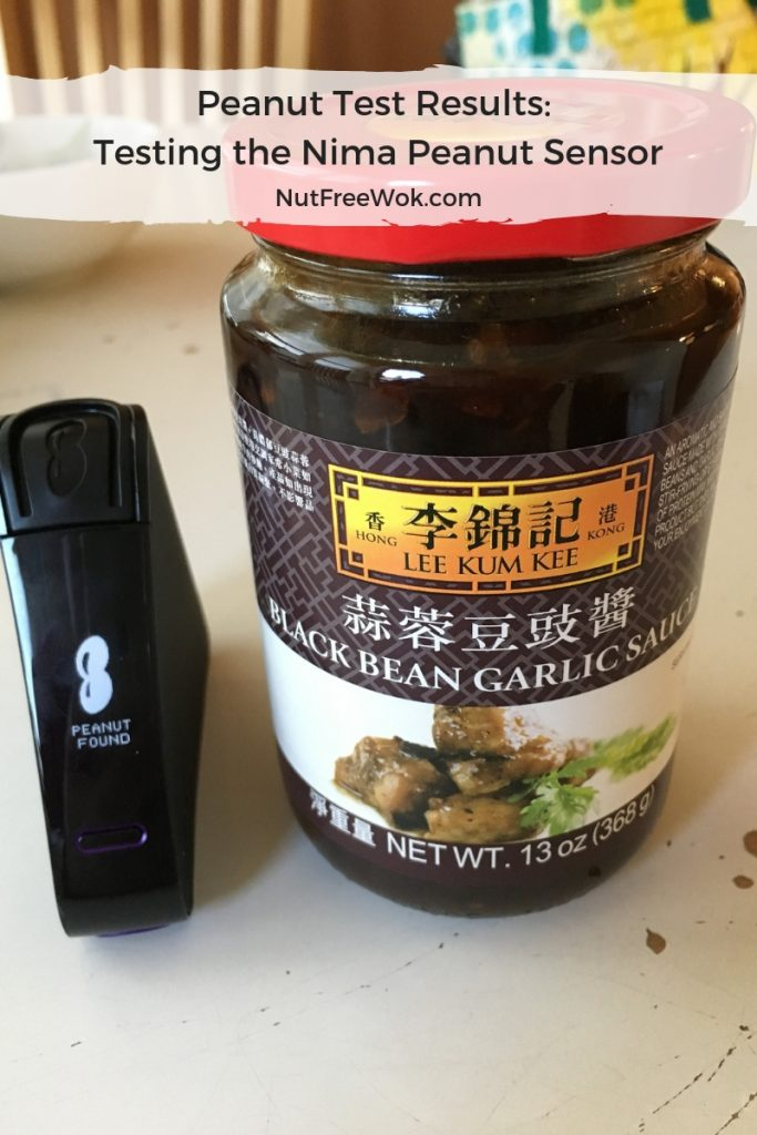 Nima peanut test results lee kum kee black bean sauce peanut detected
