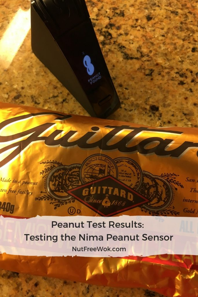 Nima peanut test results guittard chocolate chip peanut detected