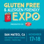 2018 Gluten Free Allergen Free Expo Fun in San Mateo (GFAF Expo)