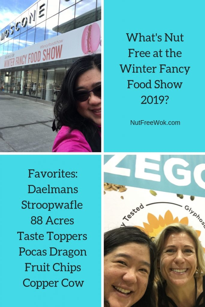 Sharon's experience from beginning to end at the Winter Fancy Food Show in 2019.